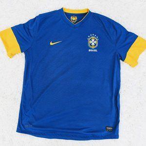 Nike Brasil CBF XL  National Soccer Futbol Jersey